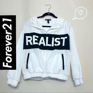 F21 Realist Hoodie Jacket